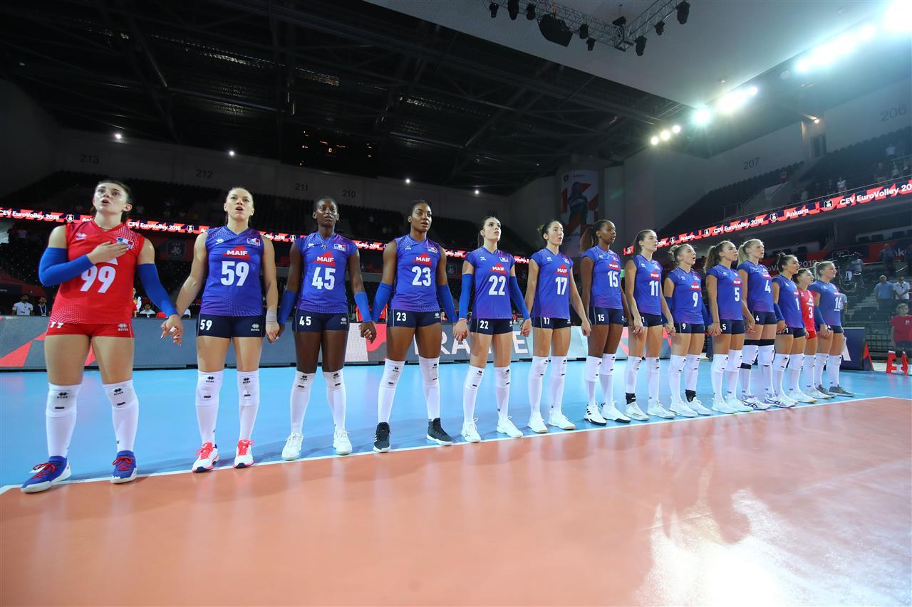 L'Equipe de France Féminine bute sur l'Equipe de Grèce