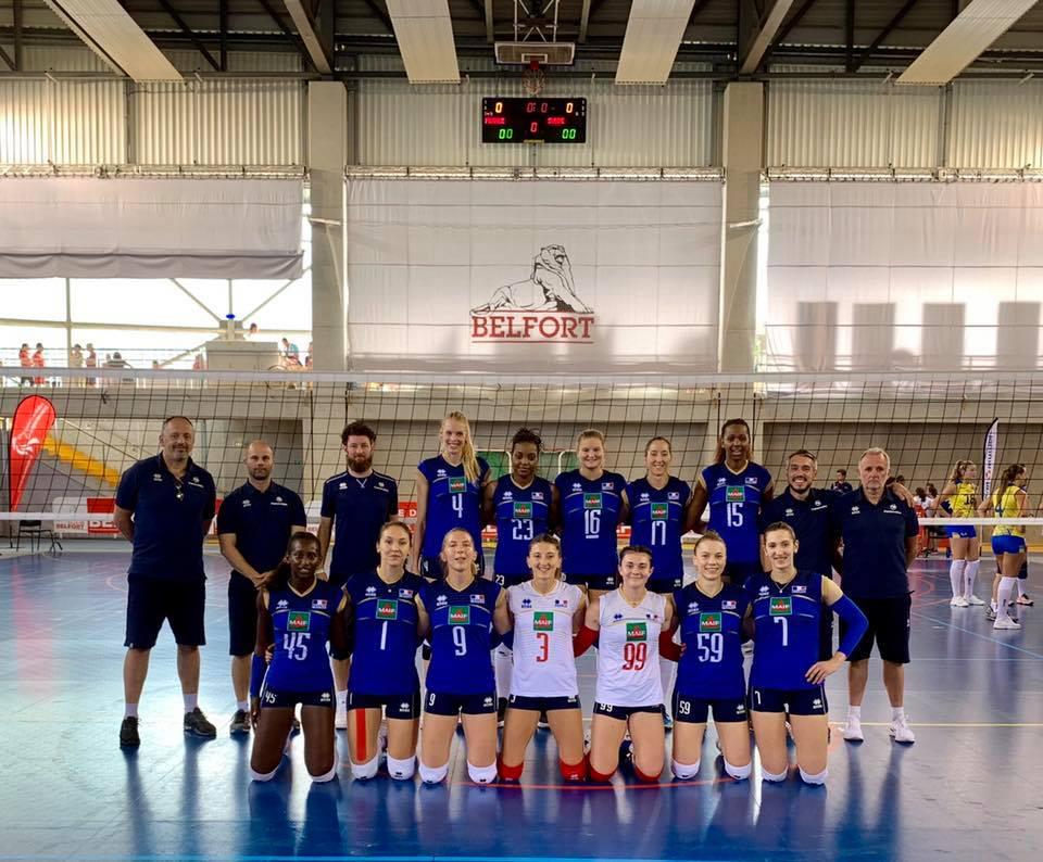 L'Equipe de France Féminine prend le dessus sur l'équipe de Shandong