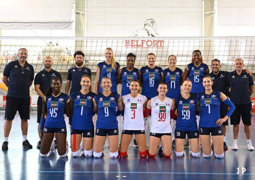 L'Equipe de France Féminine s'apprète à rentrer dans le Tournoi International de la Savaria Cup