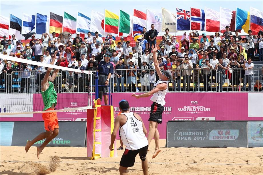 Montpellier accueille la dernière étape du Beach Volley Tour 2019