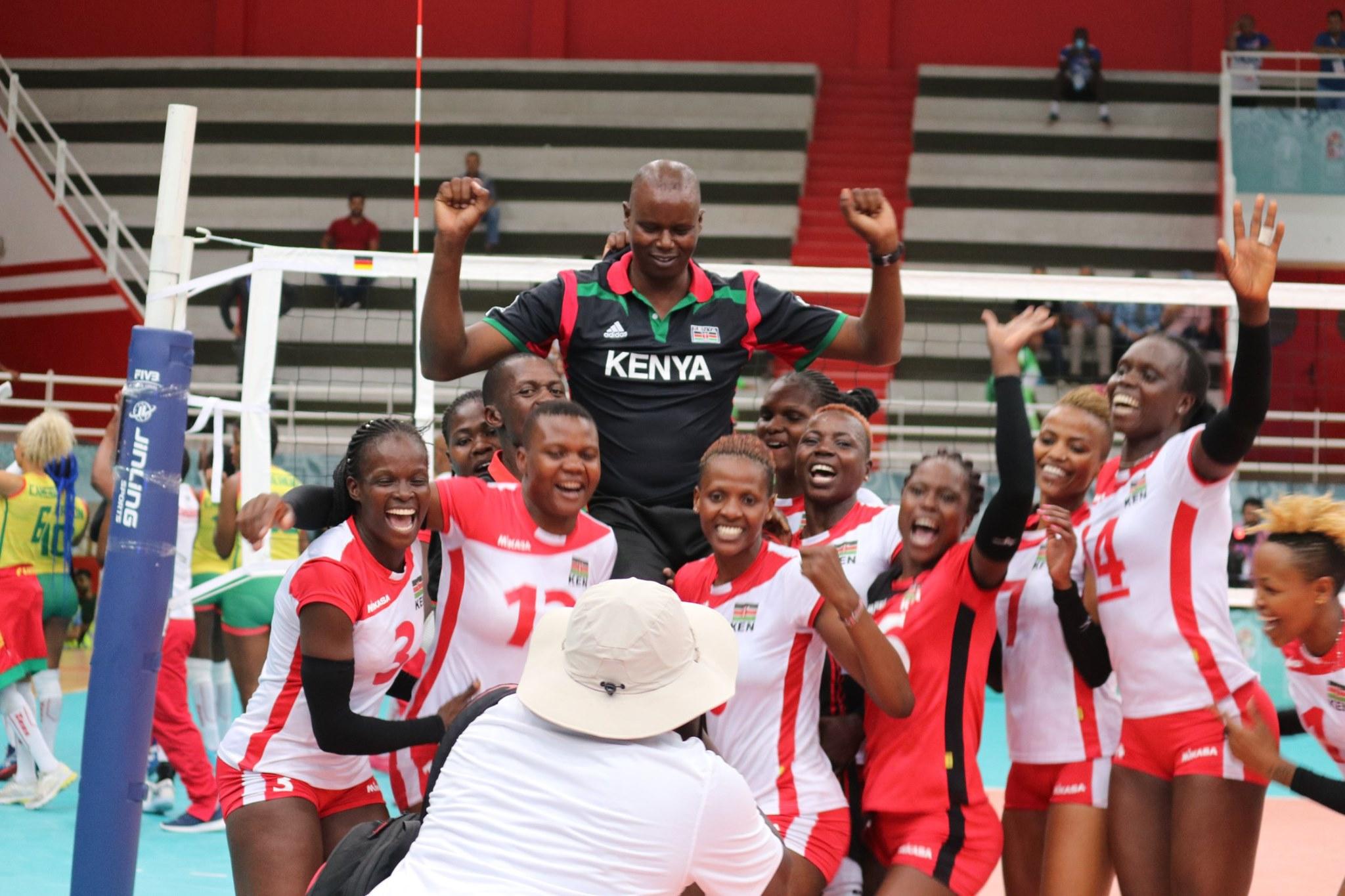 L'Equipe Féminine de Volley du Kenya remporte les Jeux Africains à Rabat
