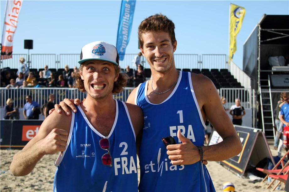 La paire française Silvestre♂️Platre débute par une victoire internationale au Tournoi FIVB 1-Star de Knokke-Heist
