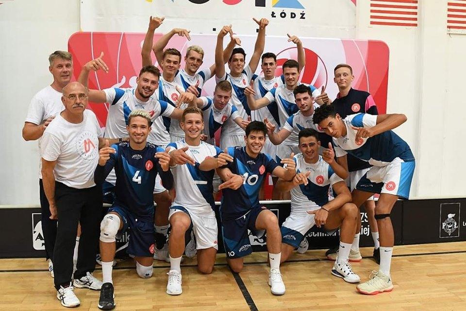L'Equipe Universitaire de Montpellier en bronze au Championnat d'Europe Universitaire