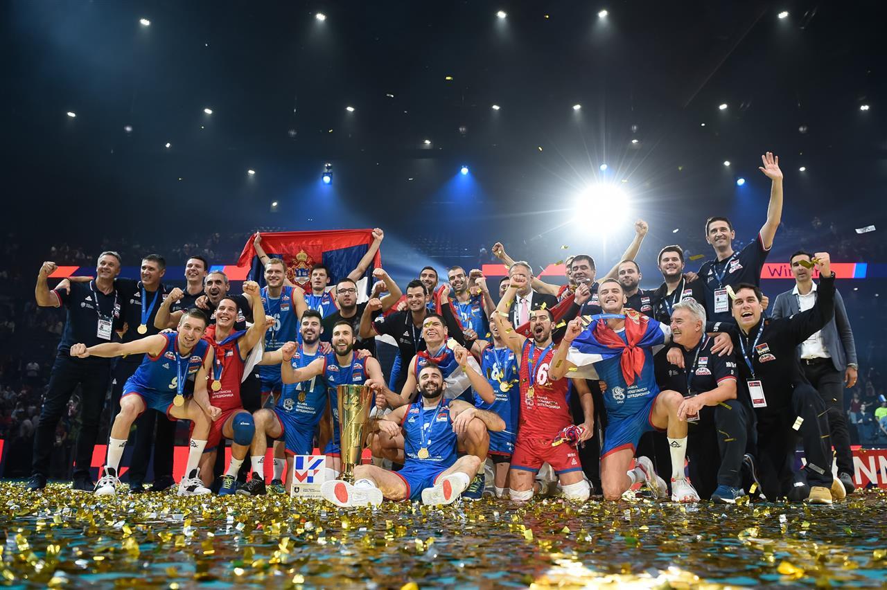 La Serbie obtient à Paris son deuxième toit de l'Europe devant la Slovénie
