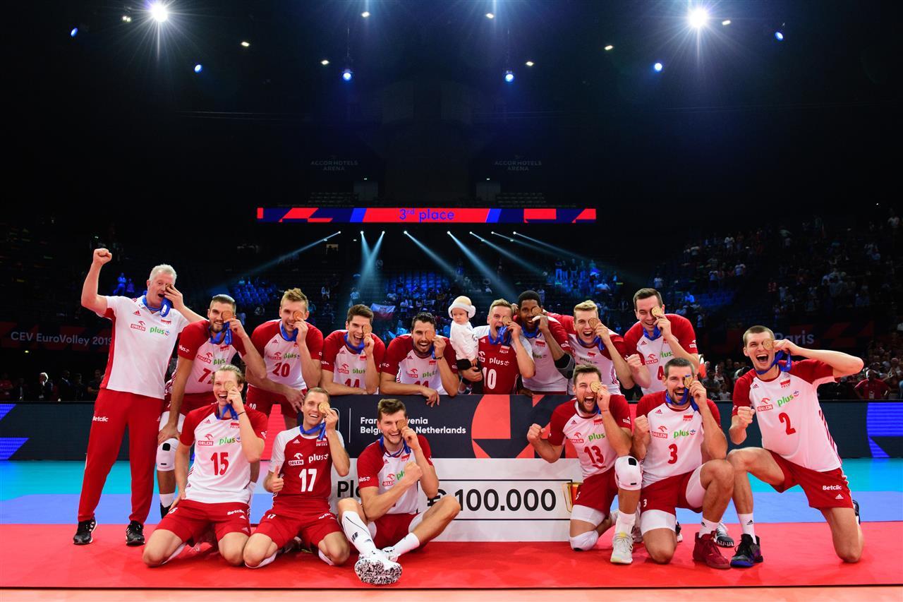 La Pologne prend la troisième marche du podium au dépend de la France