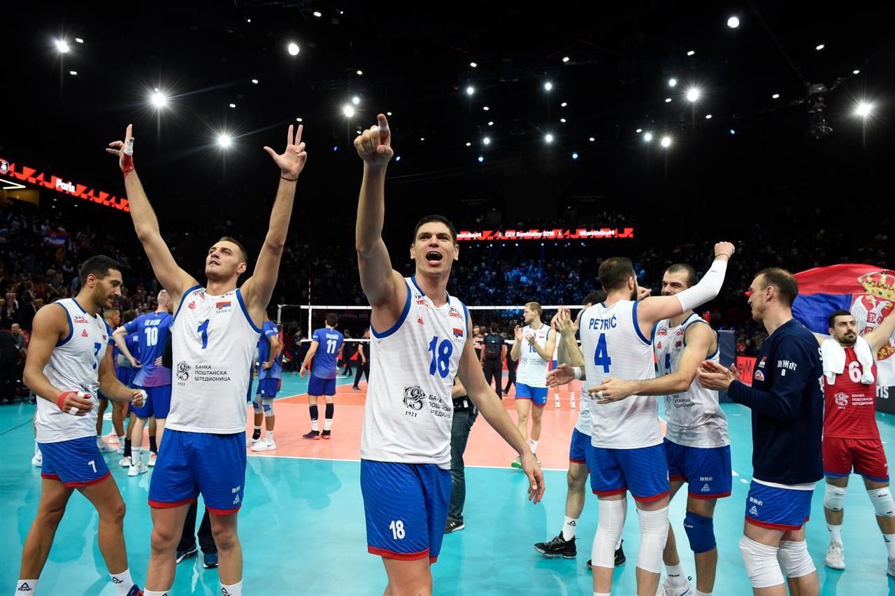 La France vend cher sa peau à la Serbie en demi-finale de l'EuroVolley 2019