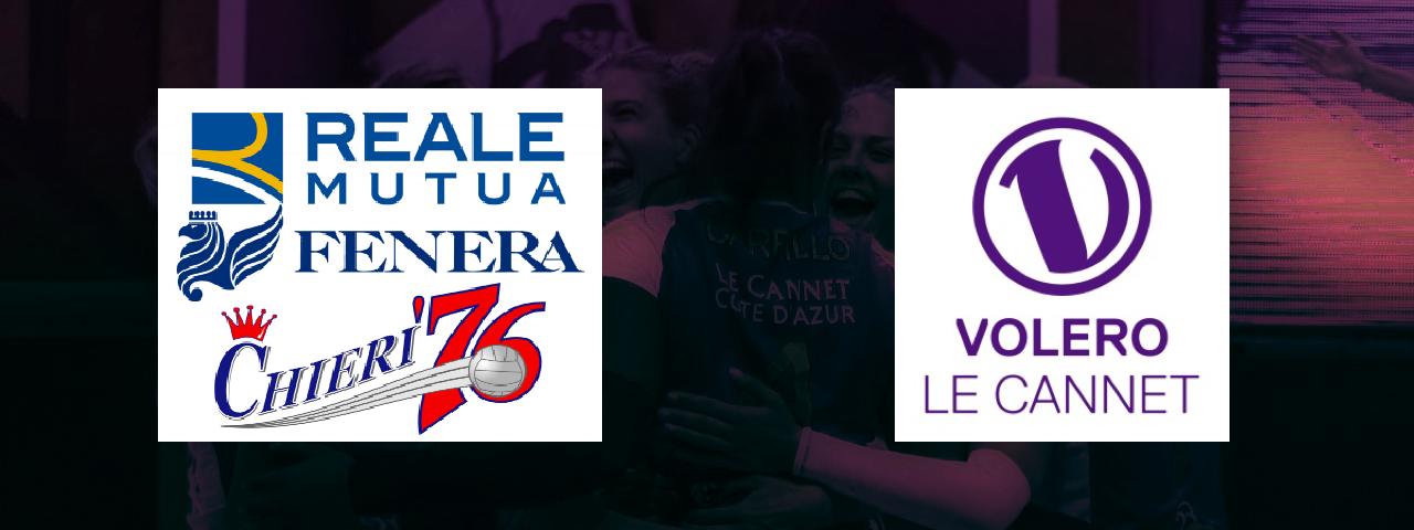 Match amical : Reale Mutua Fenera Chieri / Volero Le Cannet