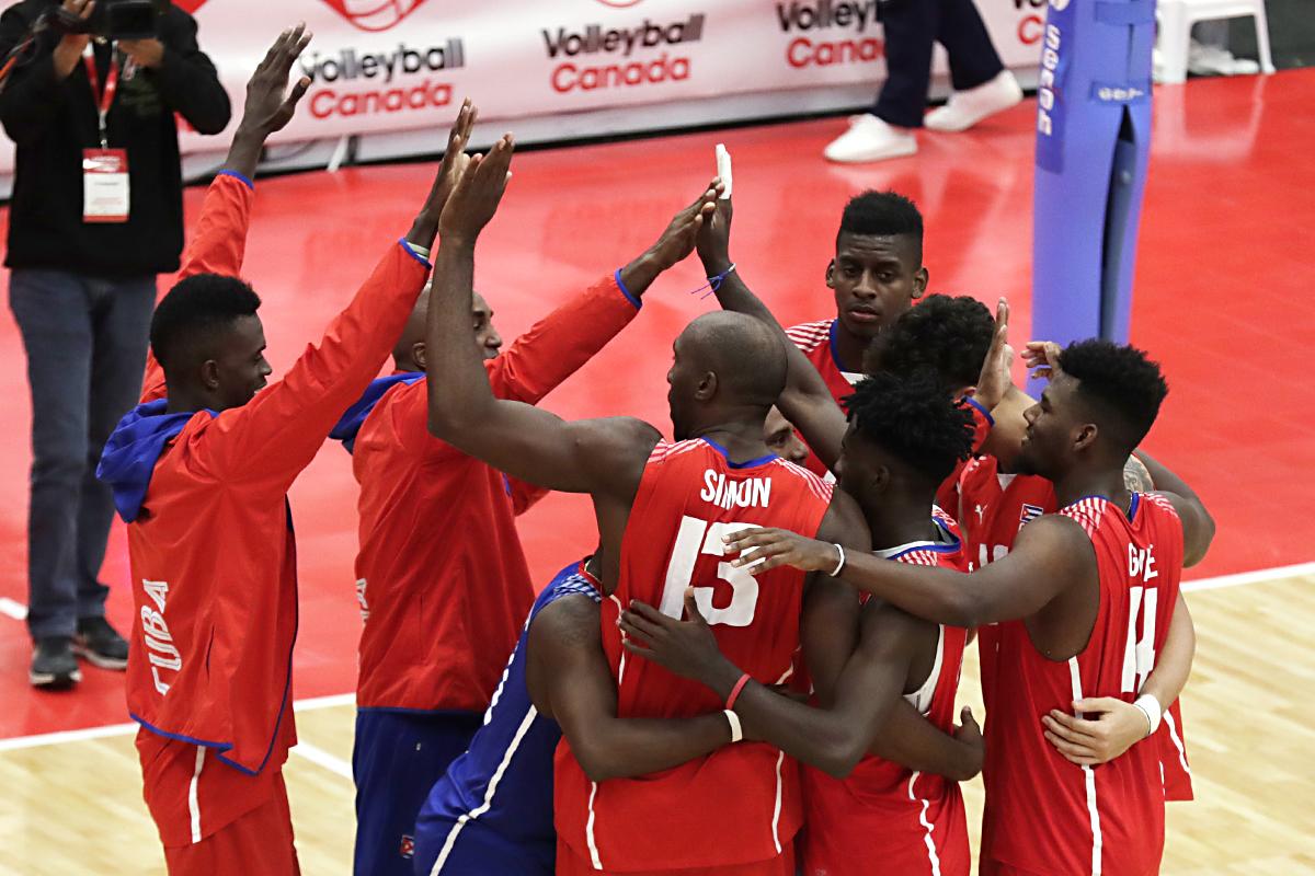 Cuba décroche l'Or du Championnat Continental NORCECA (Confédération du Nord, Amérique centrale et des Caraïbes de volley-ball)