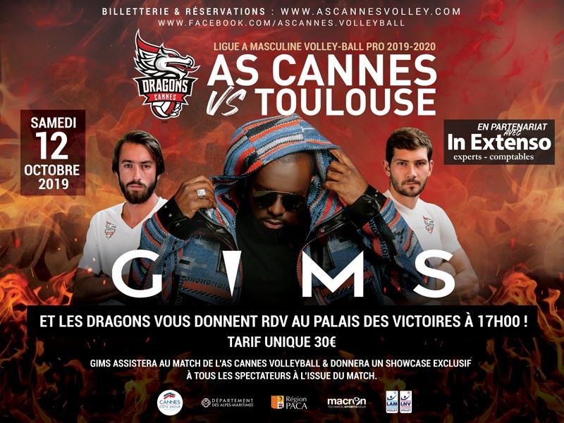 Concours Nice Matin pour des places AS Cannes vs Spacer's Toulouse et le showcase privé de Maitre Gims