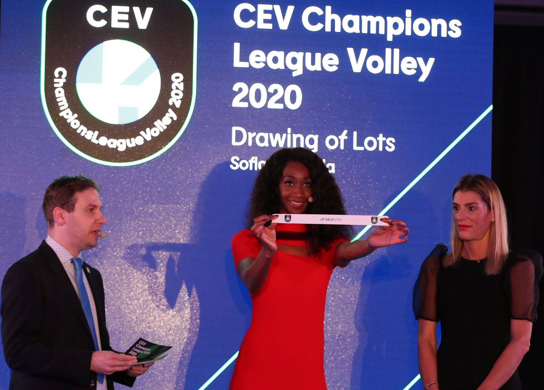 Les joueurs de l'Equipe de France présents à la CEV Champions League