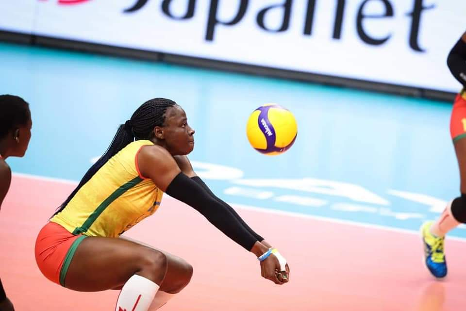 Christelle Tchoudjang Nana : « Merci à tous ceux qui soutiennent le sport féminin et le volley-ball chamalerois en particulier »