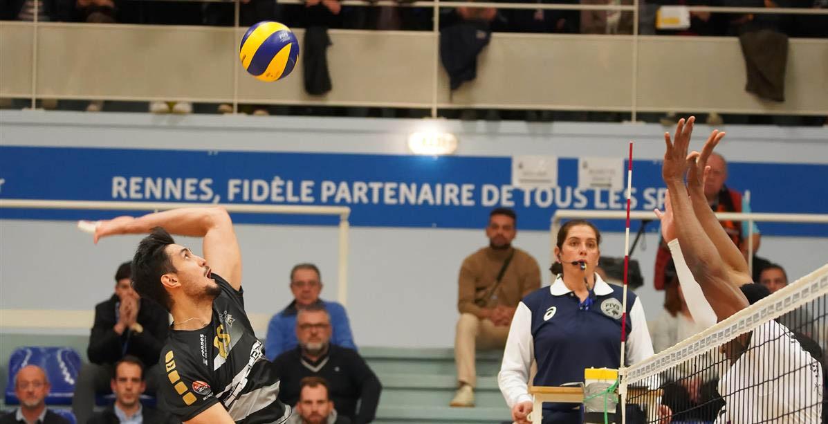 Rennes Volley 35 : En route pour les 16ème de Finale de la Challenge Cup