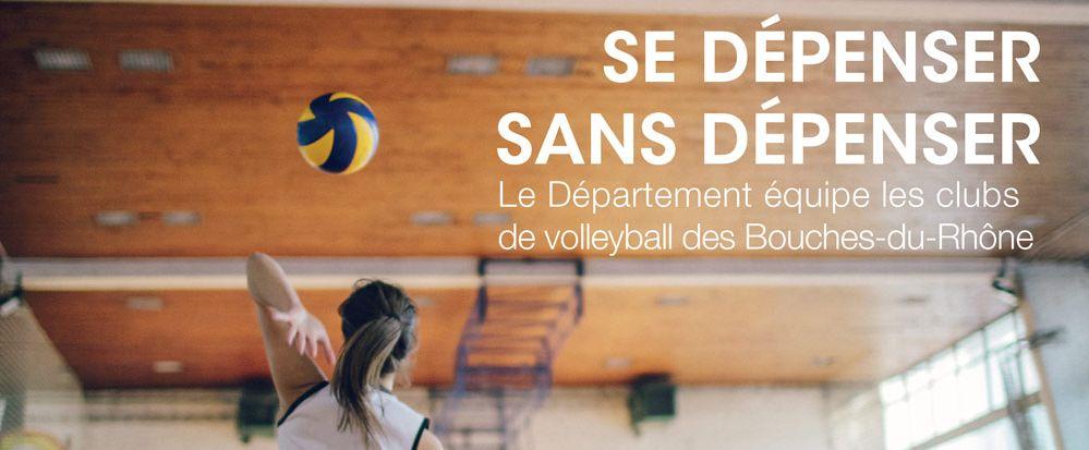 Le département des Bouches-du-Rhône donne un coup de pouce à ses clubs de sport… et le volley-ball a le bonnet d'âne !