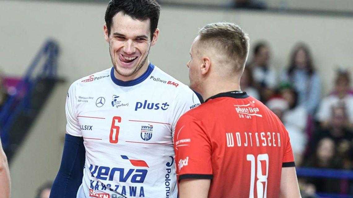 Le jeune passeur tricolore Antoine Brizard est interviewé par World of Volley