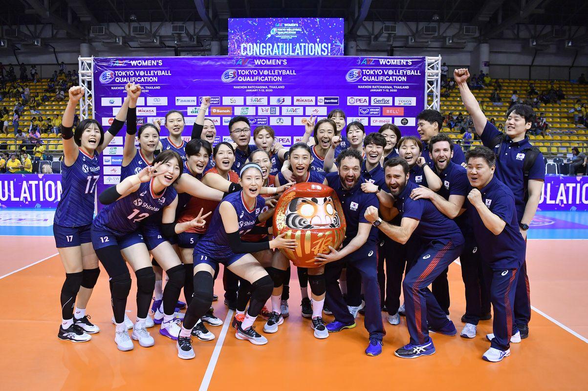 L'Equipe de Corée du Sud Féminine gagne son ticket pour les JO de Tokyo