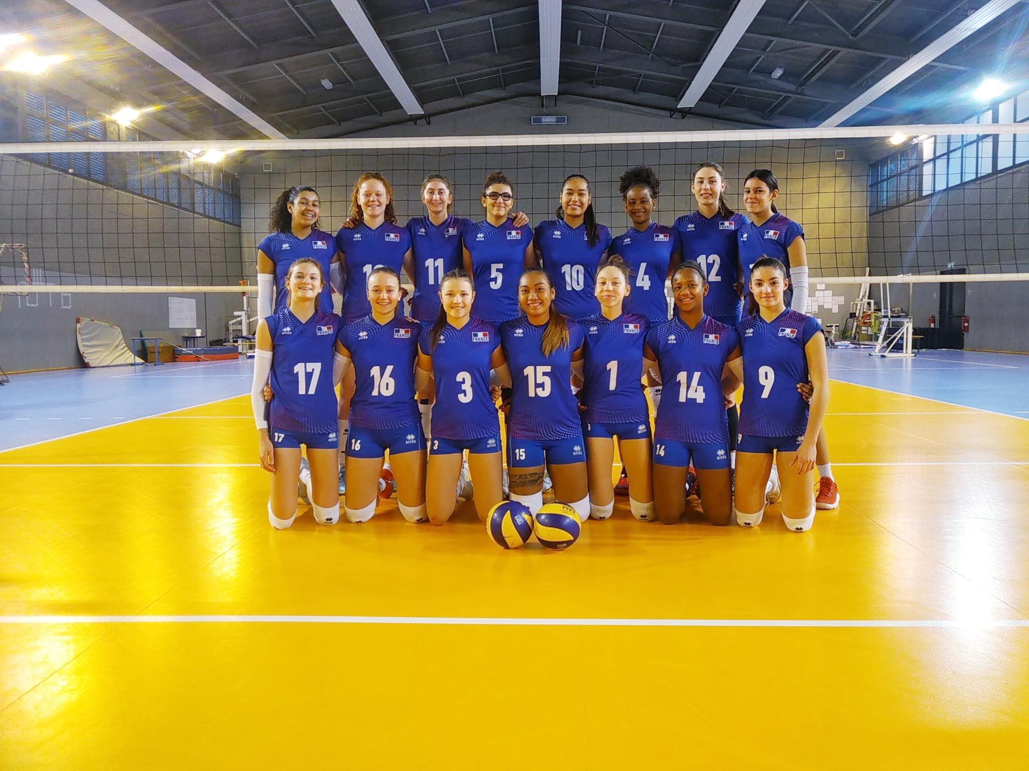 La préparation de l'Equipe de France Féminine U17 pour le Tournoi de Qualification Européen