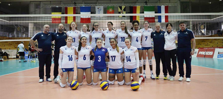 L'Equipe de France Féminine U17 a eu de la peine pour résister à l'Italie