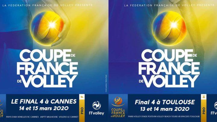 Les Finales de la Coupe de France Pro se joueront dans le Sud-Est pour les Femmes, et dans le Sud-Ouest pour les Hommes