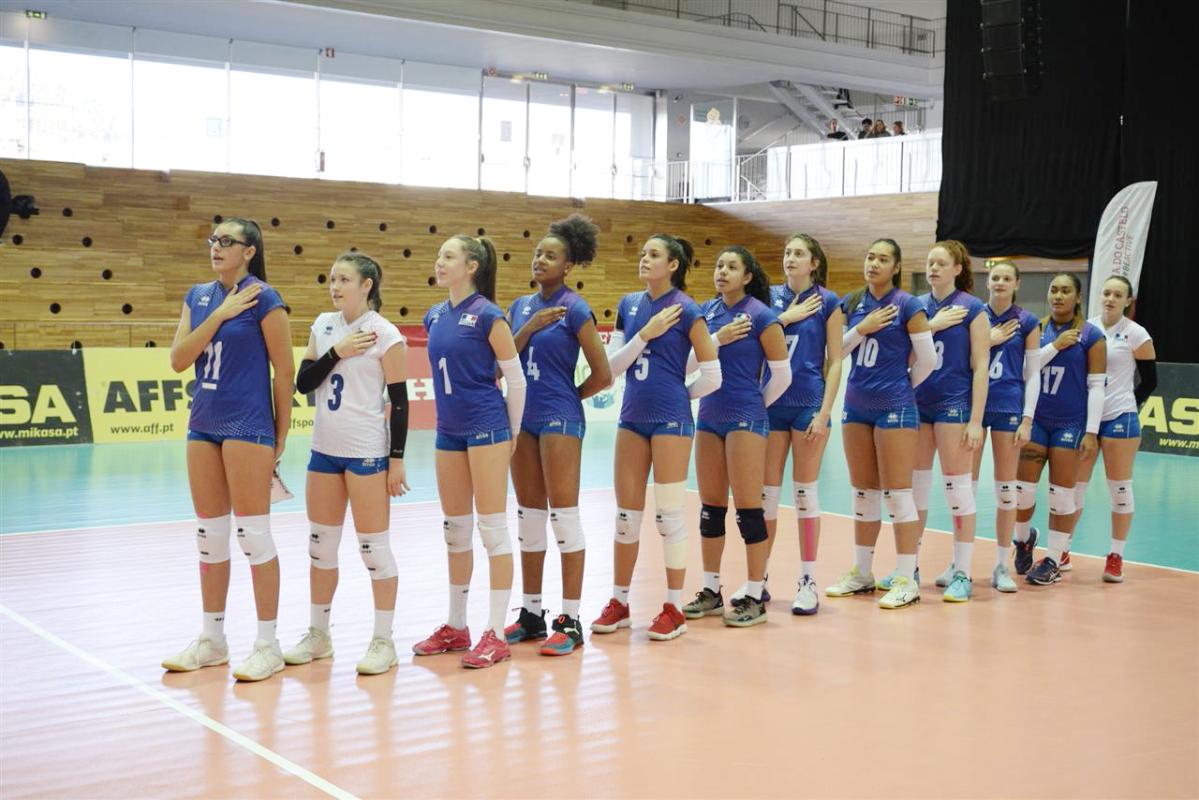 Pour son dernier match du Tournoi WEVZA U18, l'Equipe de France Féminine Cadette s'offre le Portugal