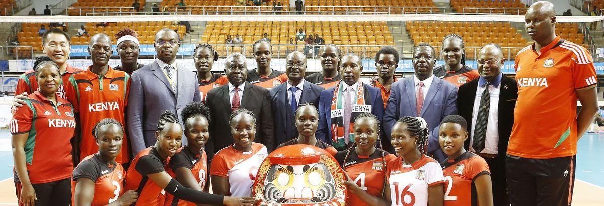 L'Equipe Féminine du Kenya gagne le droit d'aller aux JO de Tokyo