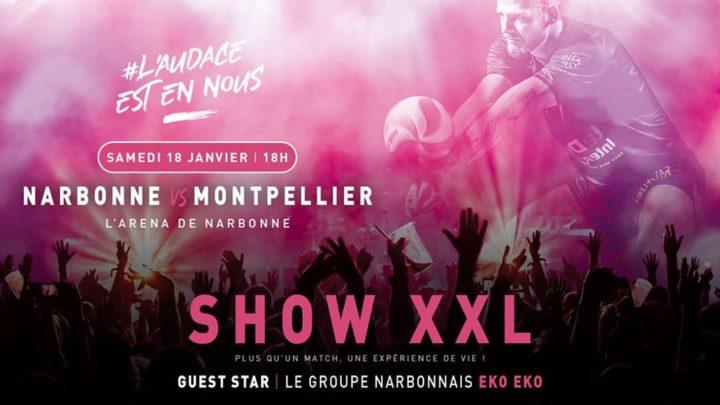 Le Show XXL de Narbonne Volley dans son nouvel Arena est déjà un succès avant même l'événement : tous les billets sont vendus !
