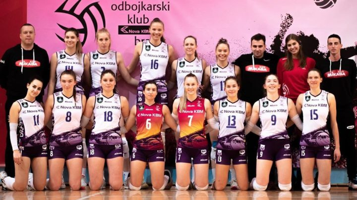 La passeuse tricolore Nina Stojiljkovic avec OK Nova KBM Branik gagne la Coupe de Slovénie