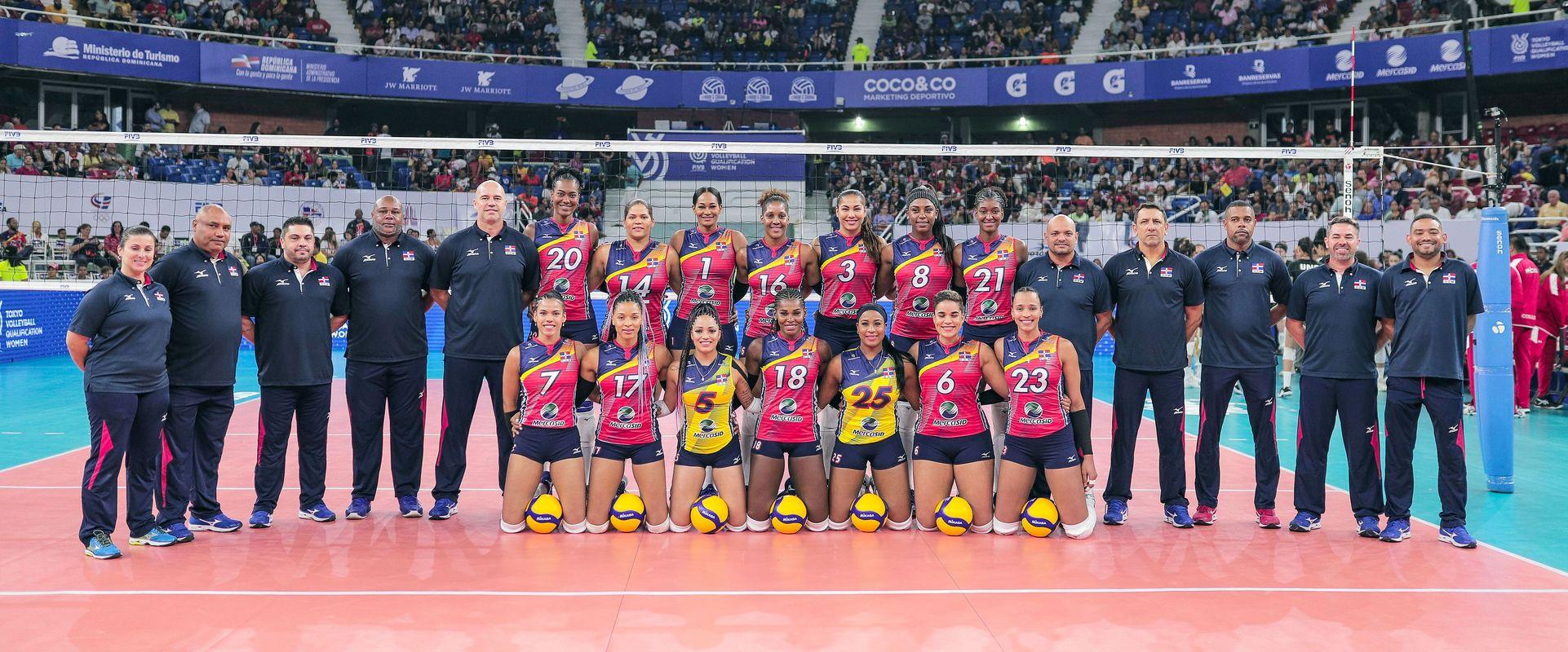 L'Equipe Féminine de la République Dominicaine remporte à domicile son ticket pour les JO d'été de Tokyo