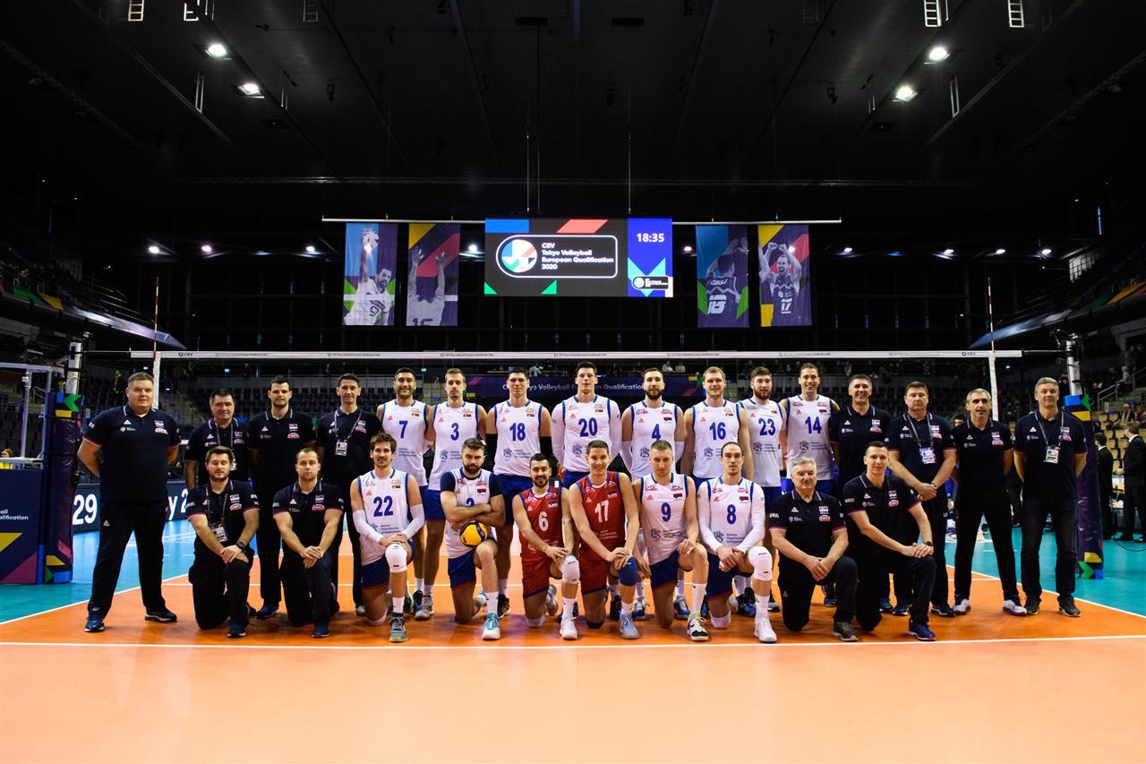 D'autres joueurs et un membre du staff de l'Equipe de Serbie ont été testés positifs au Covid-19