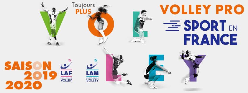La diffusion télévisée du Championnat Français Professionnel de Volley enfin de retour en clair et en direct !