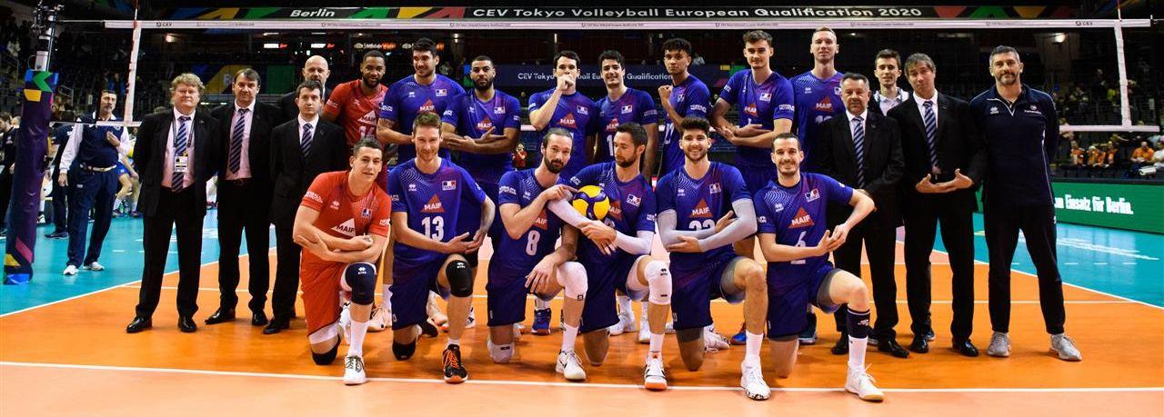 L'Equipe de France domine la première nation européenne du volley au Tournoi de Qualification Olympique de Berlin !