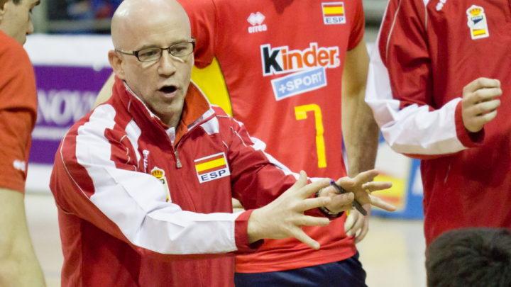 La Fédération de Volley-Ball Belge confie l'Equipe Nationale Masculine à l'Espagnol Fernando Munoz