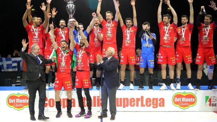 Cucine Lube Civitanova remporte la Coupe d'Italie