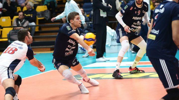 Le tricolore Trévor Clévenot jouera sa 5ème saison consécutive en Italie avec Pallavolo Piacenza (Plaisance)