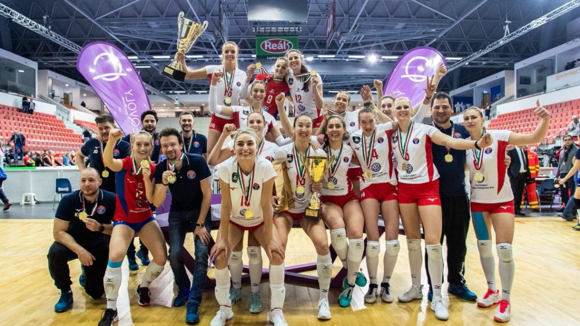 Le club féminin de Vasas Óbuda (Budapest) remporte la Coupe de Hongrie