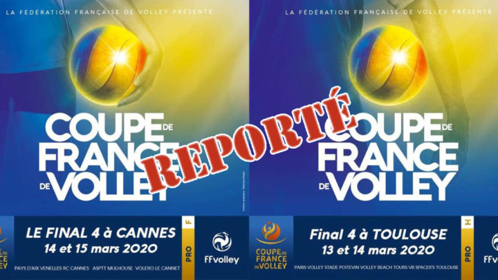 Les Finales de la Coupe de France Pro sont reportées