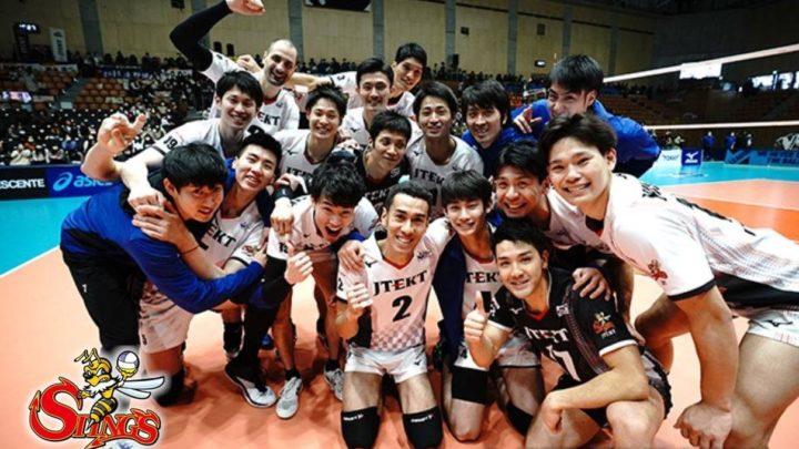 Le club masculin JTEKT Stings est champion du Japon et son joueur vedette MVP