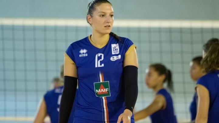 La jeune joueuse française Iva Davidović part pour Evreux Volley-Ball