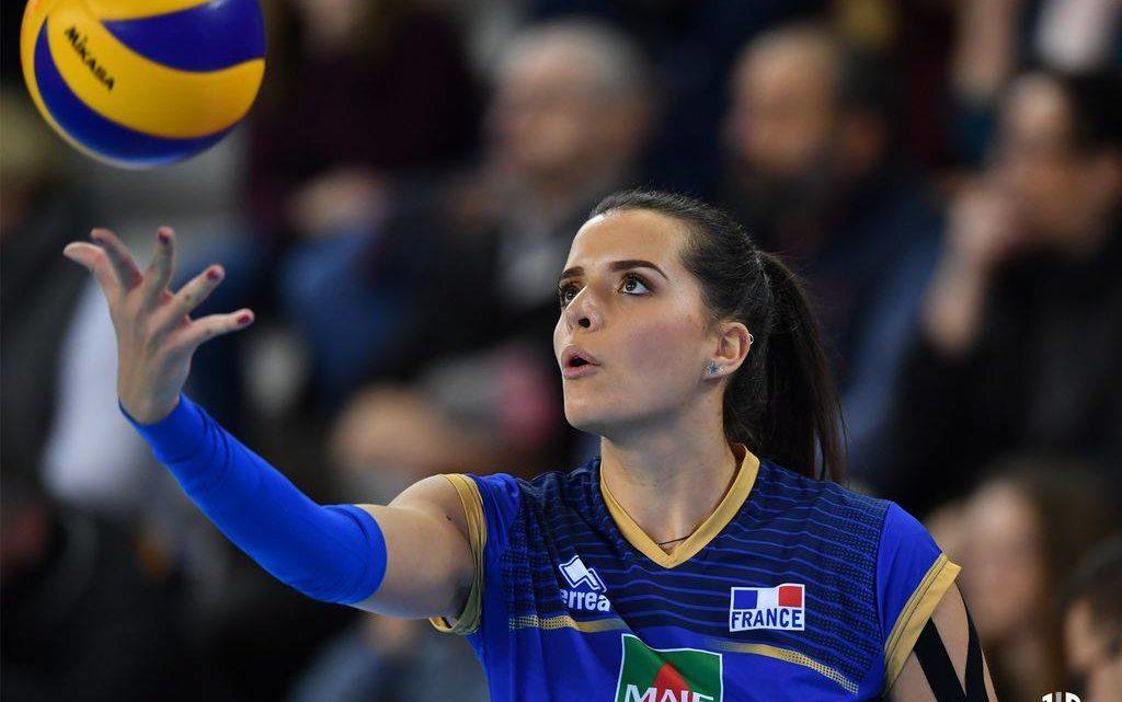La pointue tricolore Julie Oliveira Souza : « La confiance d'un coach nous aide à grandir »