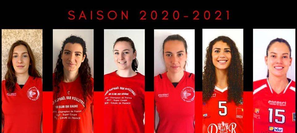 Saint-Raphaël Var Volley-Ball garde 6 joueuses dont 3 françaises pour la saison prochaine