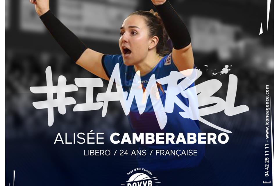 La libero française Alisée Camberabero arrive dans l'un des projets les plus ambitieux de la Ligue A Féminine au Pays d'Aix Venelles Volley-Ball