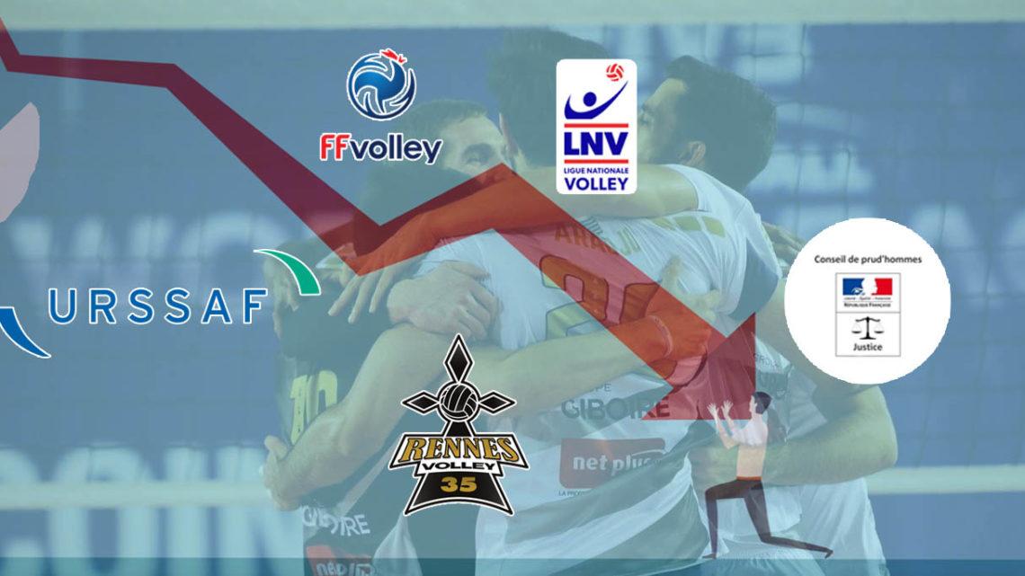 Rennes Volley 35, le feuilleton d'une chute en cours