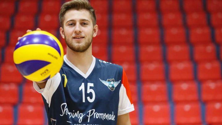 Le jeune passeur Théo Bray est incorporé au TLM Volley