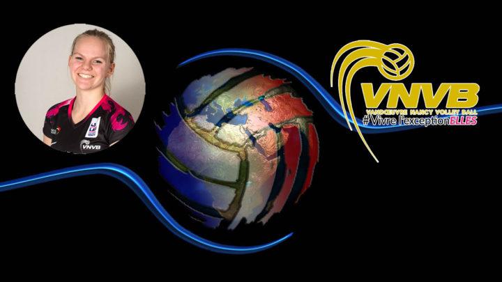 La jeune libero Zoé Betz est intégrée dans l'équipe pro du VNVB