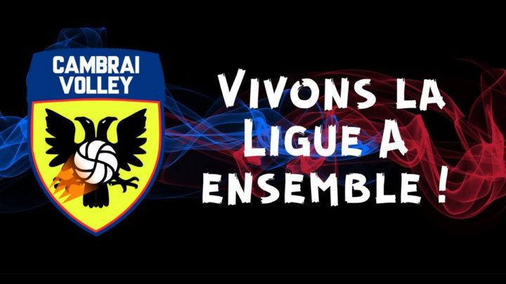 La DNACG autorise Cambrai Volley à évoluer en Ligue A Masculine