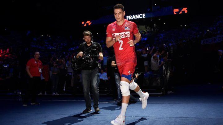 Le joueur de la semaine de la  FIVB : Le Libero Français Jénia Grebennikov