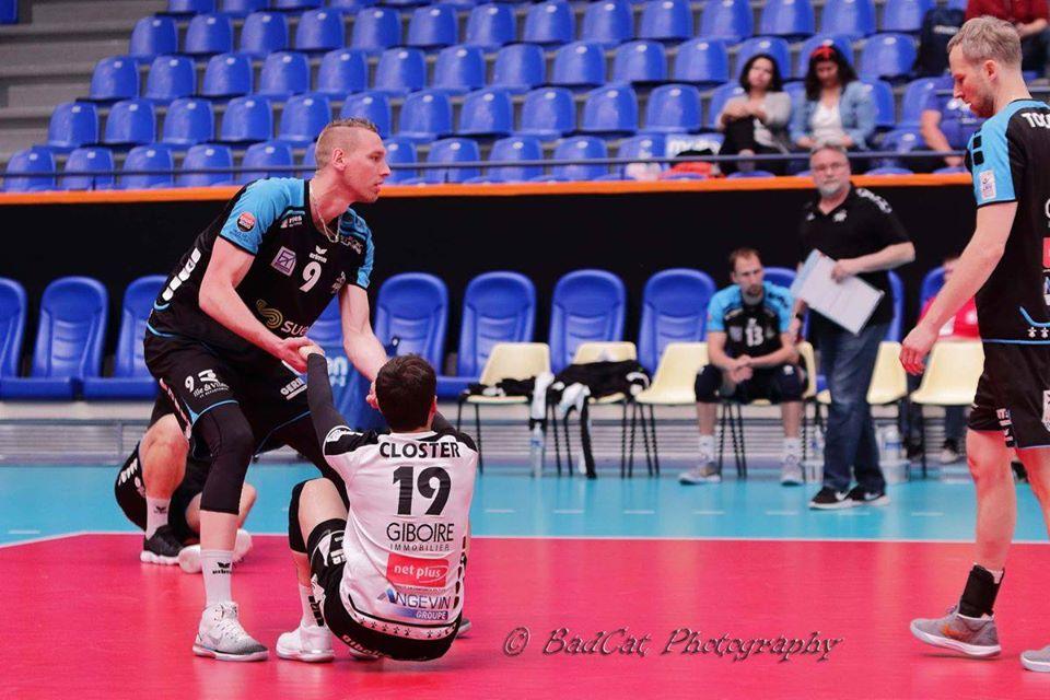 Le central tricolore Kevin Le Roux veut sauver Rennes Volley 35 de l'abîme