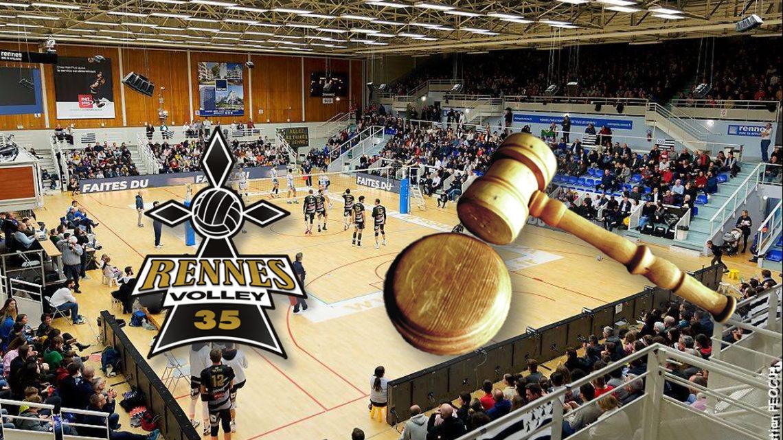 Rennes Volley 35 continue son naufrage
