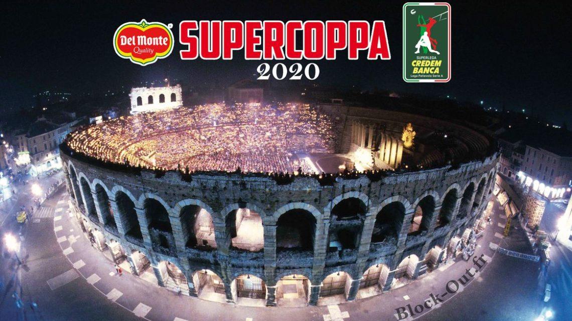 La finale de la Supercoupe italienne se jouera dans l'Arène de Vérone