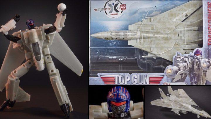 Hasbro sort un jouet sorti d'une fusion entre un Transformer, le F-14 de Top Gun et un joueur de volley-ball