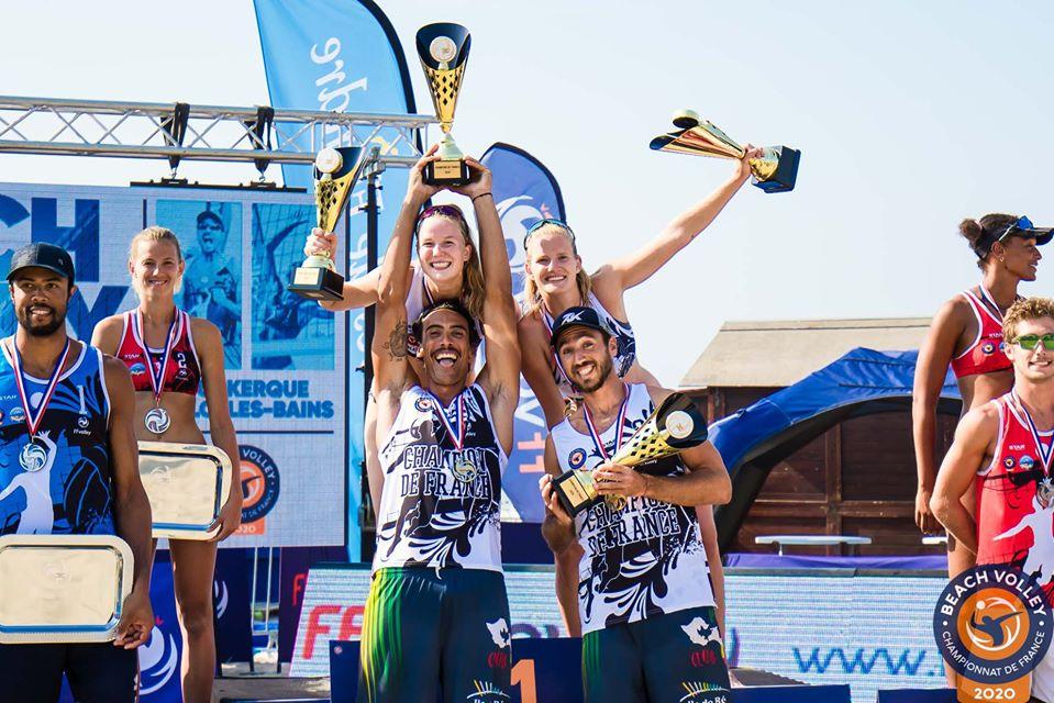 Beachvolley : Des Paires Championnes de France 2020 inédites